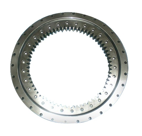 013.45.1600 Single-row Four Point Contact Ball Type Slewing Bearing (Internal gear type)