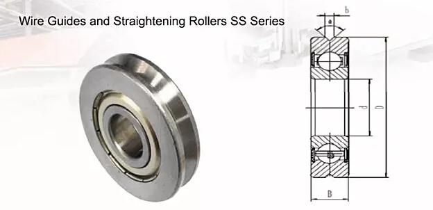 cable wire straightening roller SD35(12mmx35mmx15.9mm )