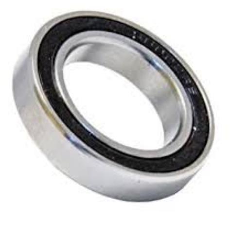 high speed rust proof S6802 2RS steel dc motor bearings