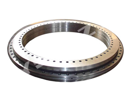 Single-row four point contact ball slewing bearings
