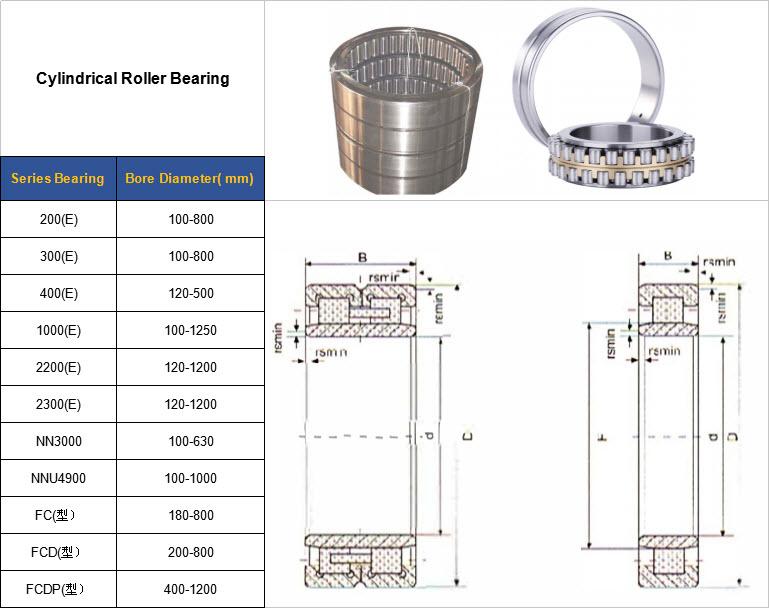 200(E) | 300(E) | 400(E) | 1000(E) | 2200(E) | 2300(E) | NN3000 | NNU4900 | FC(型) | FCD(型) | FCDP(型)