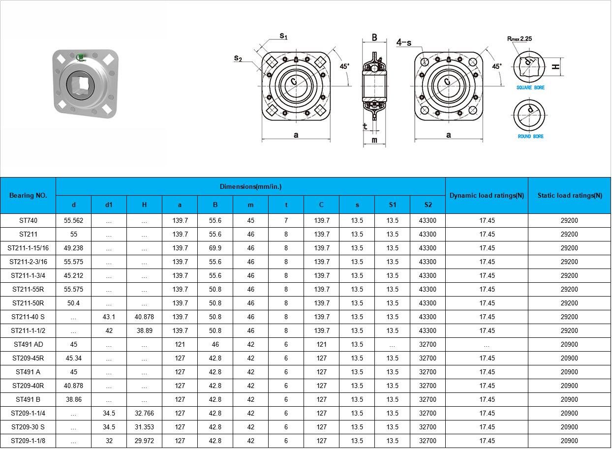 ST740   ST211   ST211-1-15/16   ST211-2-3/16   ST211-1-3/4   ST211-55R   ST211-50R   ST211-40 S   ST211-1-1/2   ST491 AD   ST209-45R   ST491 A   ST209-40R   ST491 B   ST209-1-1/4   ST209-30 S   ST209-1-1/8