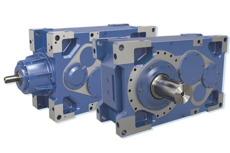 Modular industrial gear units in additional sizes