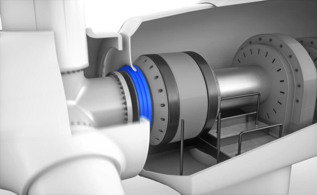 Freudenberg designs new radial shaft seal ring for main bearings in wind turbines
